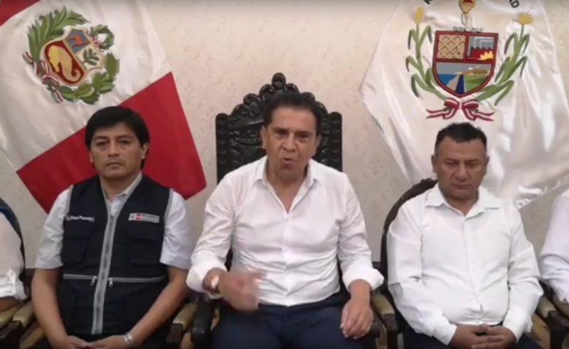 primer caso de Coronavirus en Trujillo