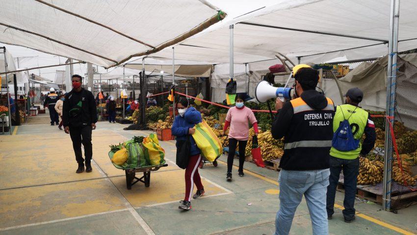 mercados estacionarios de Trujillo
