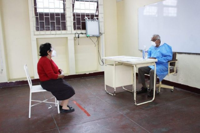consultas externas en el Hospital Belén