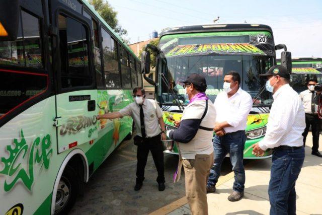 transporte hacia Laredo