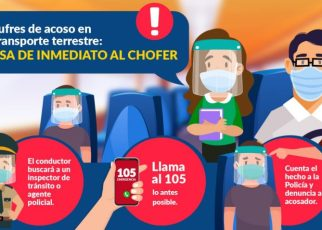 acoso sexual en el transporte público