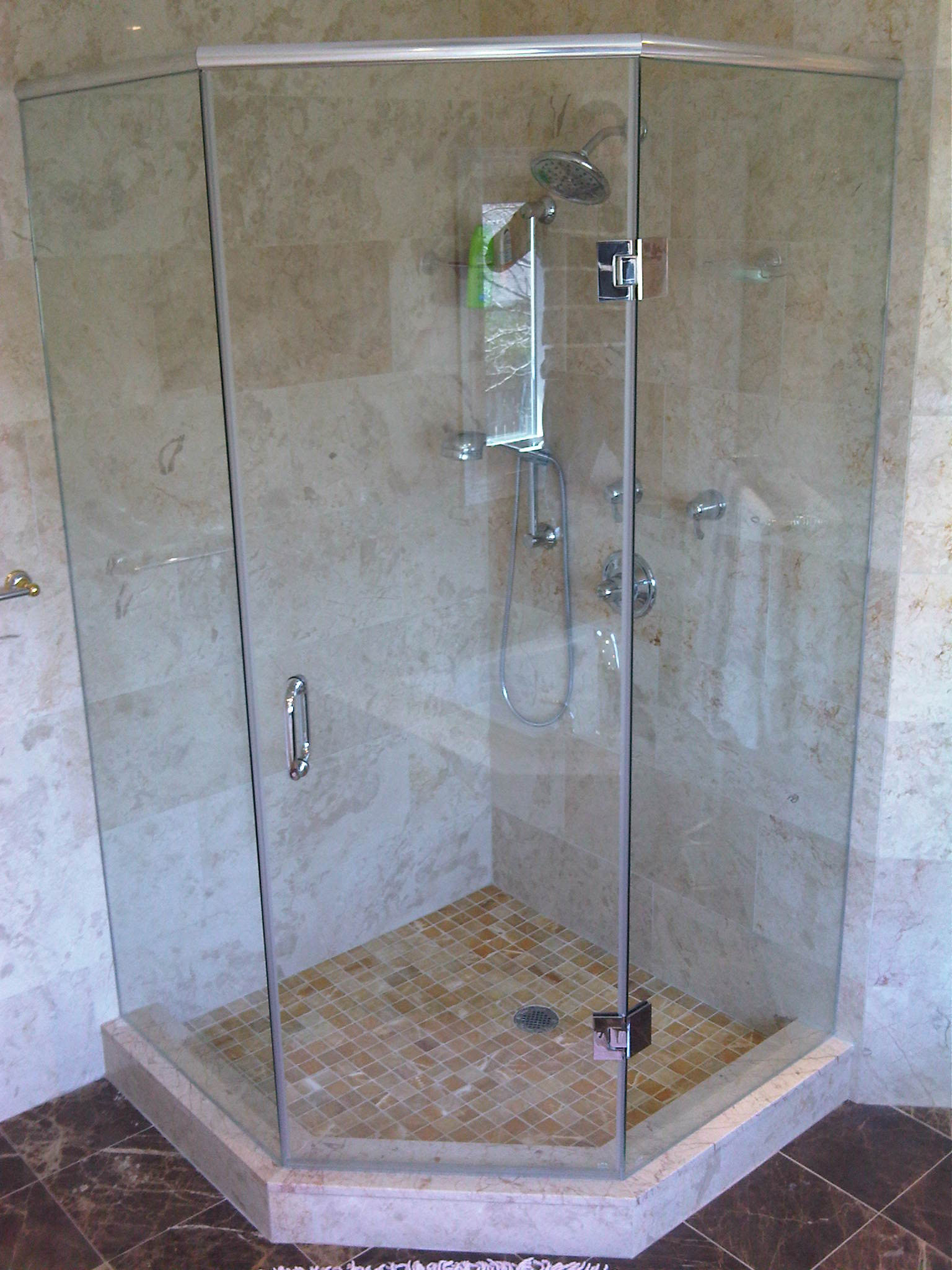 Sierra Glass Frameless Glass Shower Enclosures