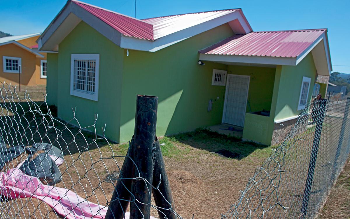 Indigenous environmentalist Berta Caceres's house, outside La Esperanza, Honduras