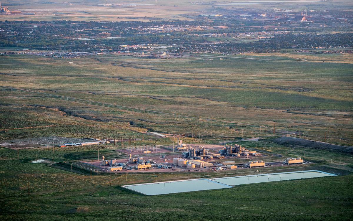 A Black Hills Energy power planet near Pueblo, Colorado