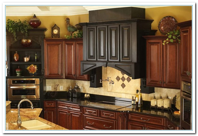 5 Charming Ideas For Above Kitchen Cabinet Decor