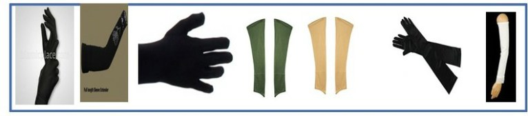 Arms wear and gloves