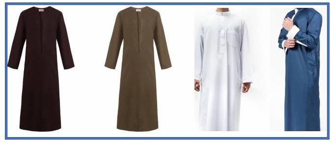 Men's Clothes (Gowns, Thobes, etc)