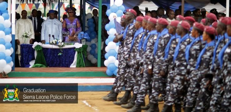 Sierra Leone Police Graduation 2019