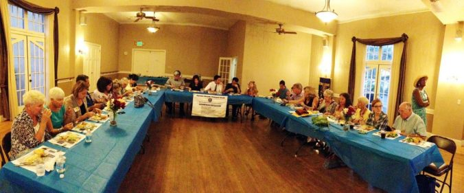Attendees at the Sierra Madre Kiwanis Annual Installation Dinner
