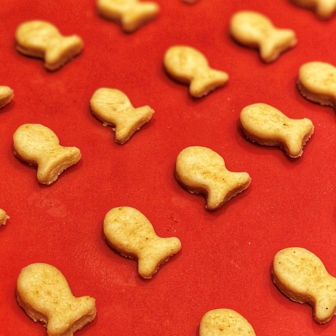cheddar goldfish lineup