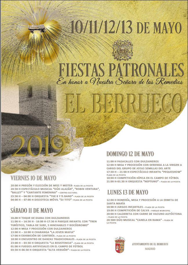 El Berrueco celebra sus Fiestas Patronales con hípica, exhibiciones y mucha música 3