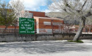 El CEIP de Bustarviejo 'se para' hasta que la Comunidad responda
