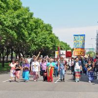 Tar Sands Resistance March – What democracy looks like