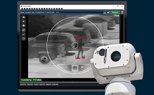 Pan Tilt unit with thermal camera