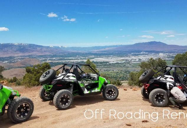 utv above reno- OHV Shelby Hall