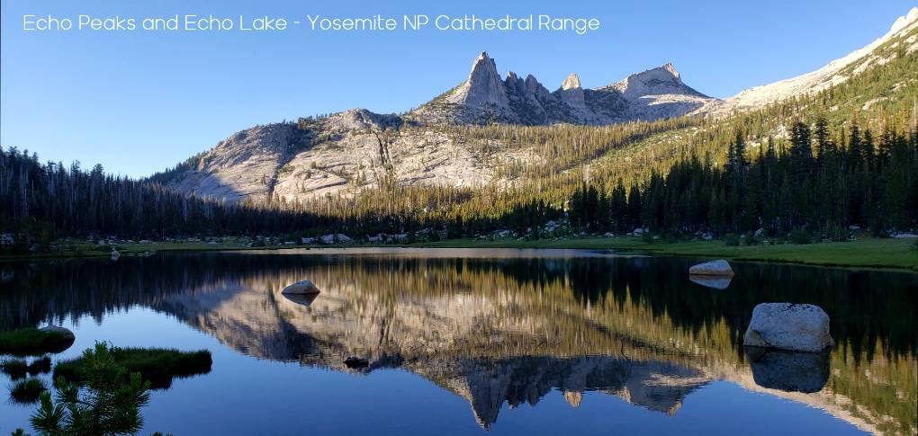 Echo Peaks Echo Lake Yosemite
