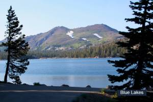 Blue Lakes- Alpine County
