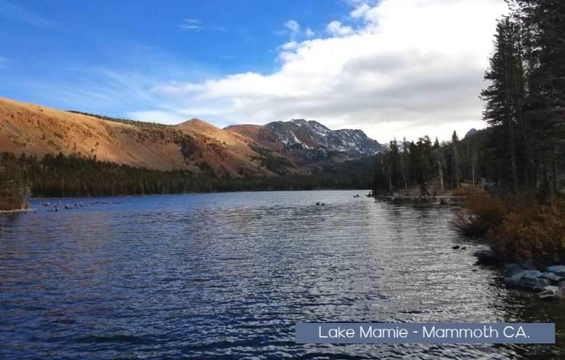 Lake Mamie Mammoth Ca