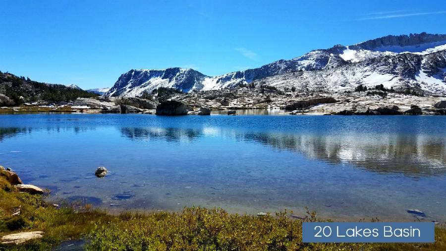 Towser Lake- 20 lakes basin