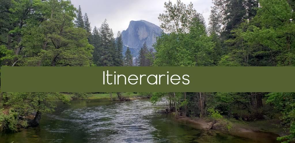 Yosemite itineraries