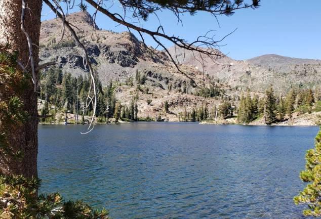 sussie Lake desolation wilderness