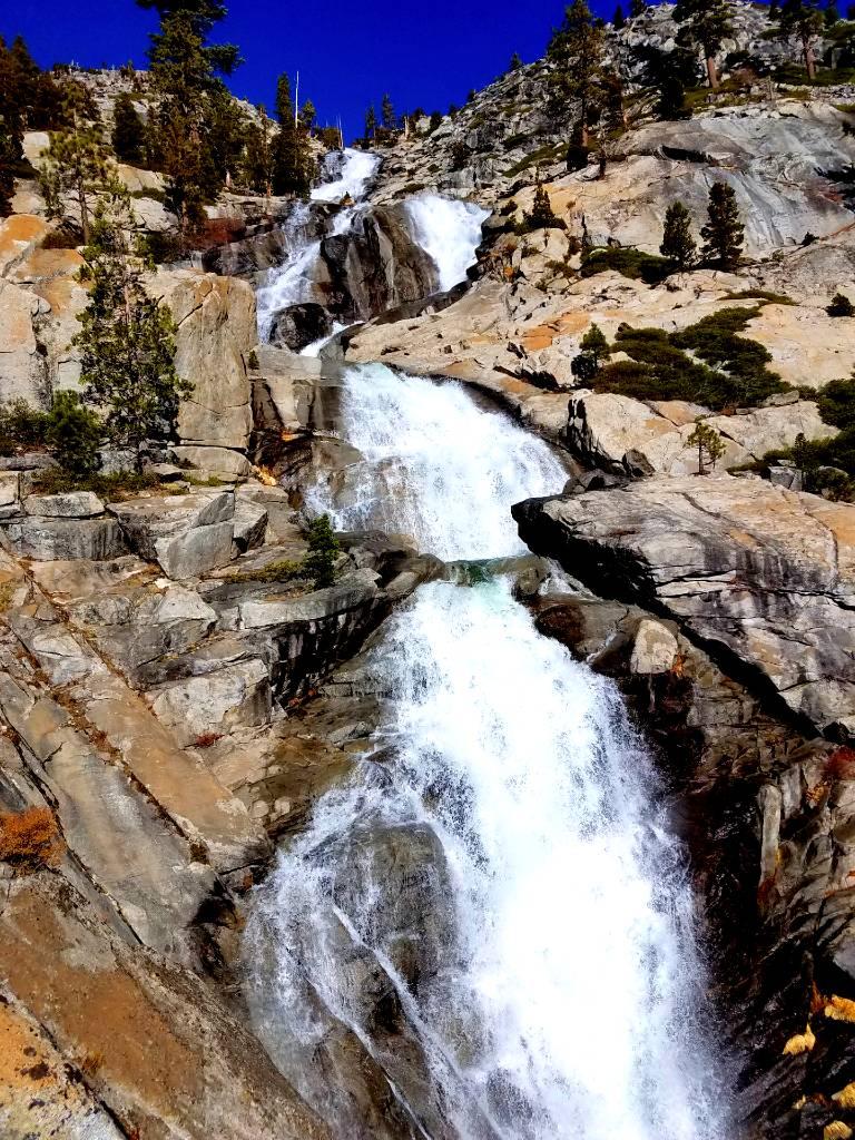 Horsetail Falls Desolation Wilderness