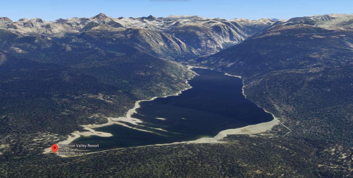 Lake Thomas A Edison at Vermilion valley resort