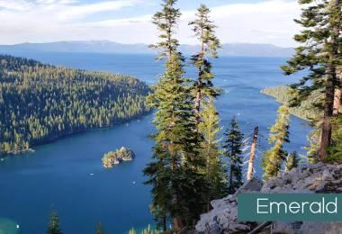 Emerald bay Lake tahoe