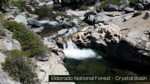 Eldorado nf crystal basin swimming hole