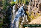 Kings Creek Falls Lassen