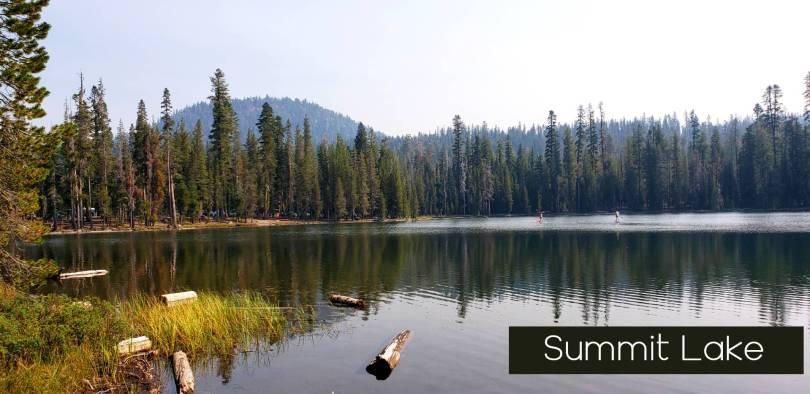 summit lake lassen volcanic