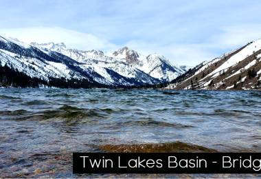 Twin lakes Bridgeport ca