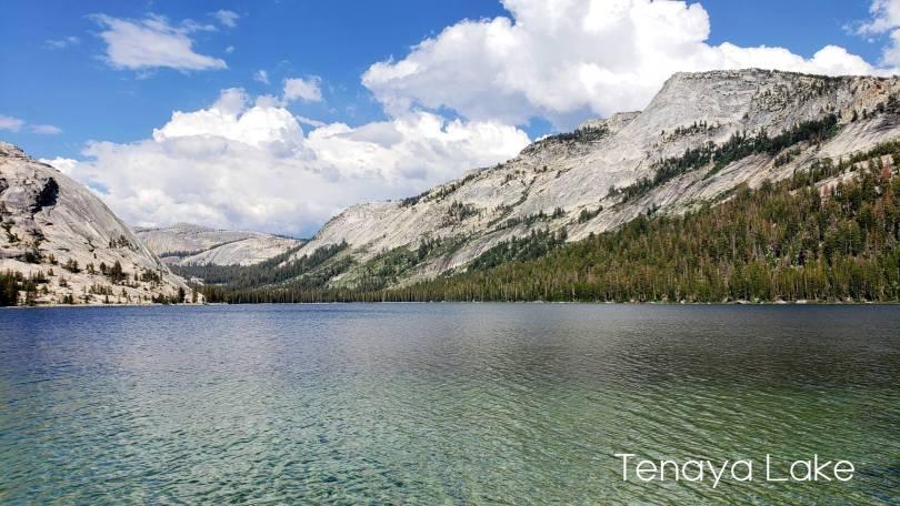 Tenaya Lake looking east into the cathedral Range