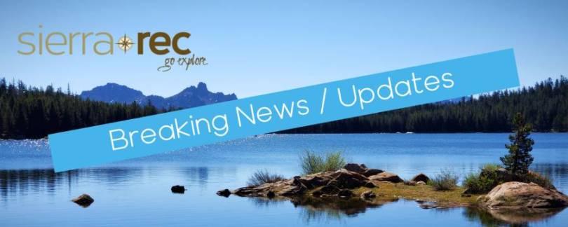 Breaking news alert banner