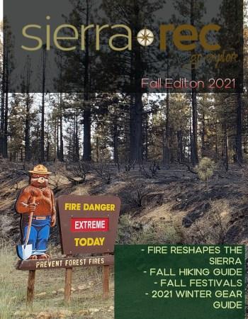 fall 2021 sierra rec magazine cover