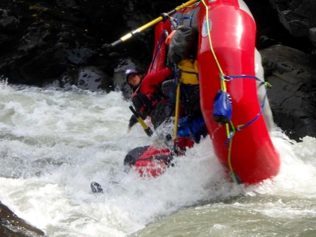 Oar Raft Flipping