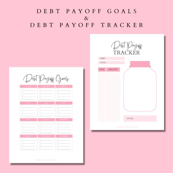 debt payoff planner printable