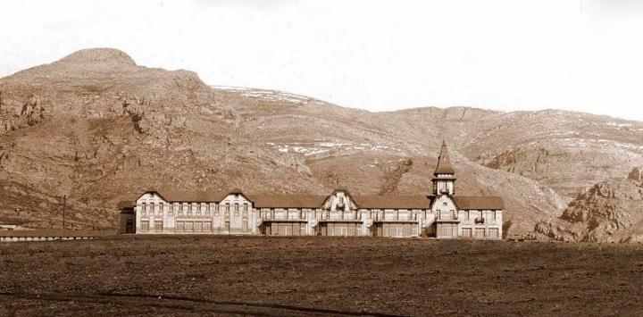 Ruinas del Club Hotel de la Ventana