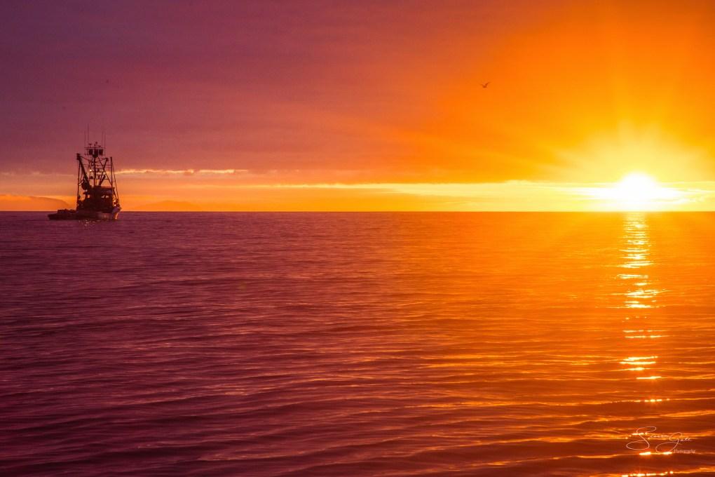 chignik sunset alaska