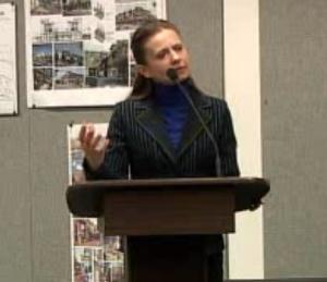 Mammoth Town Manager Marianna Marysheva-Martinez.