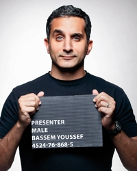 Bassem Youssef out of jail for now.