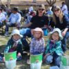 2019-3-16_Blake Jones Tournament (12)_Sage, age 4, Sierra, age 6, and Brook, age 4, with mom,Tara, and dad, Richard Lancaster of Bishop, Calif. (Custom)