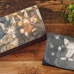 ダヤンの秋財布で金運アップ♪わちふぃーるどの新作アート財布。