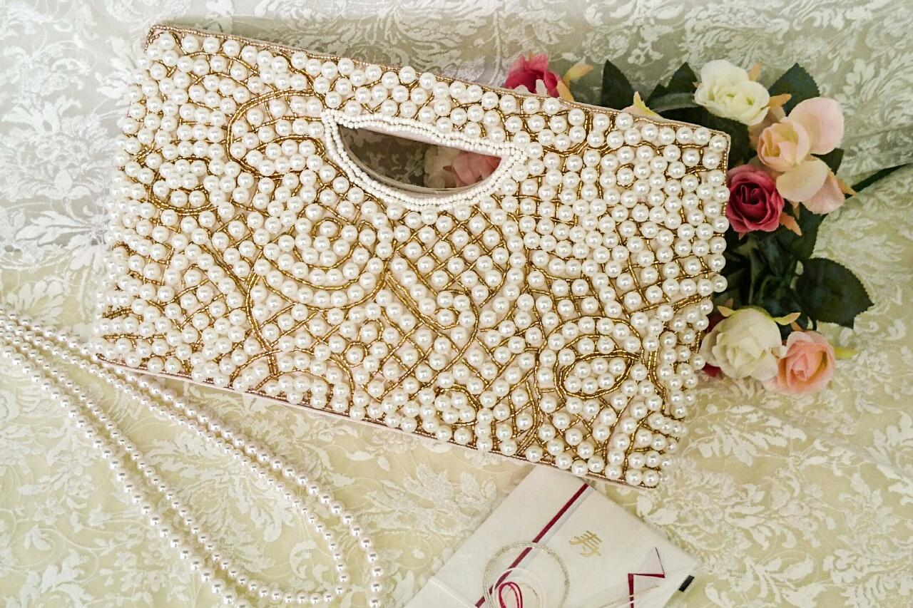 大人女子のための結婚式のお呼ばれバッグ♪「パーティーバッグ」
