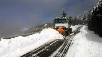 Снегоуборочная техника на Тенерифе