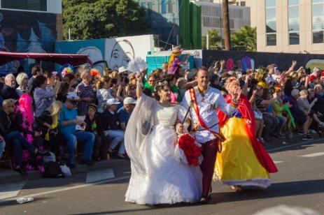 Карнавал на Тенерифе — королевская чета