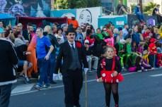Главное шествие карнавала на Тенерифе в 2016 году — Чарли Чаплин