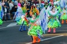Главное шествие карнавала на Тенерифе в 2016 году — детишки