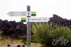 Указатели пеших маршрутов Сантьяго-дель-Тейде
