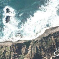 Пляж Бенихо со спутника